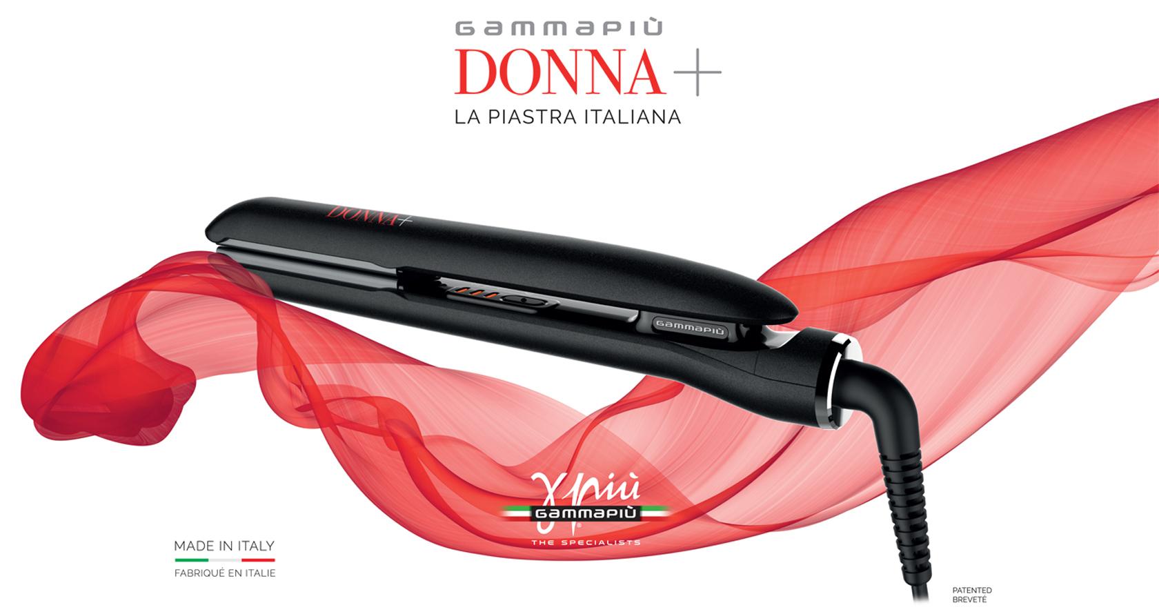Piastra lisciante per capelli 100% made in Italy Donna Più di Gamma Più chiusa