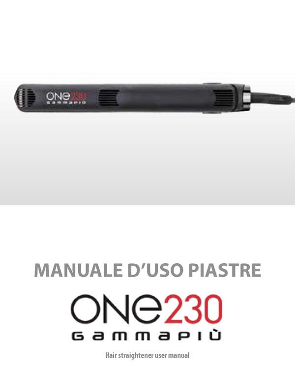 Haarglätter ONE 230 GammaPiù