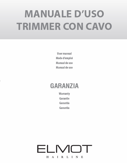 Trimmer con Cavo ELMOT