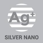 Gitter aus Silber