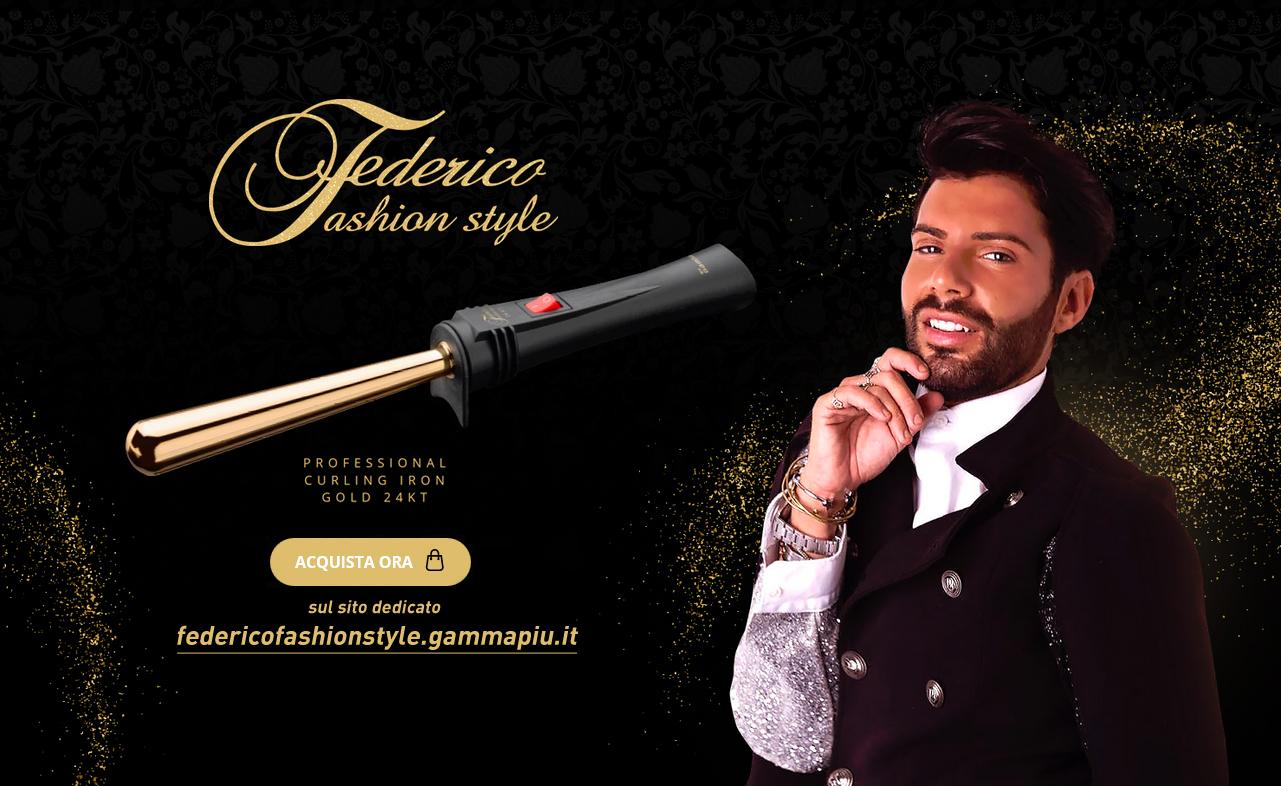 Acquista il Ferro di Federico Fashion Style in Oro 24K