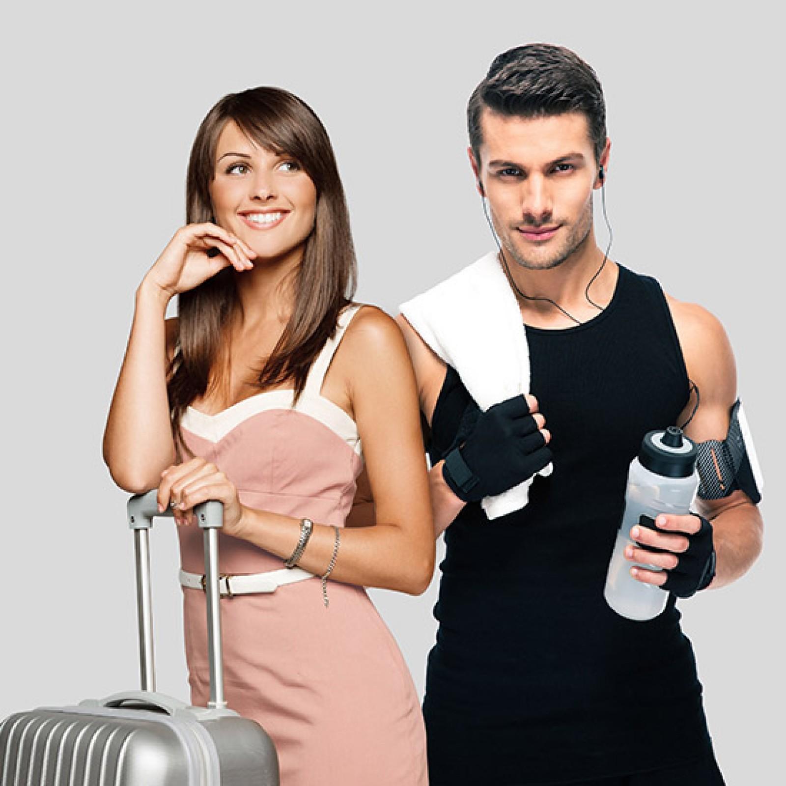 Ideale per viaggi e fitness