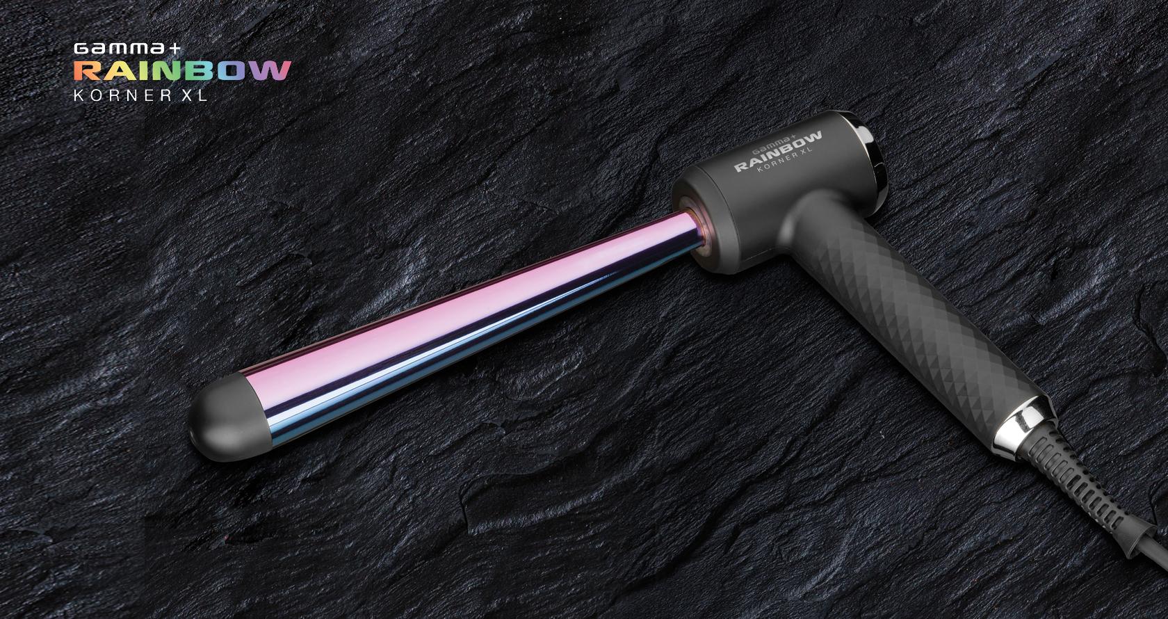 Ferro professionale antistatico dalla forma esclusiva e con impugnatura ergonomica