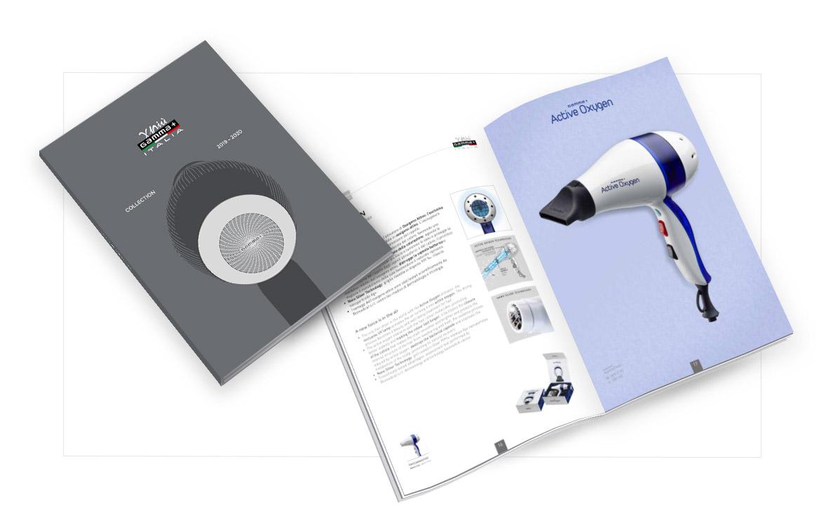 Catalogo 2019-2020 copertina e anteprima pagine interne