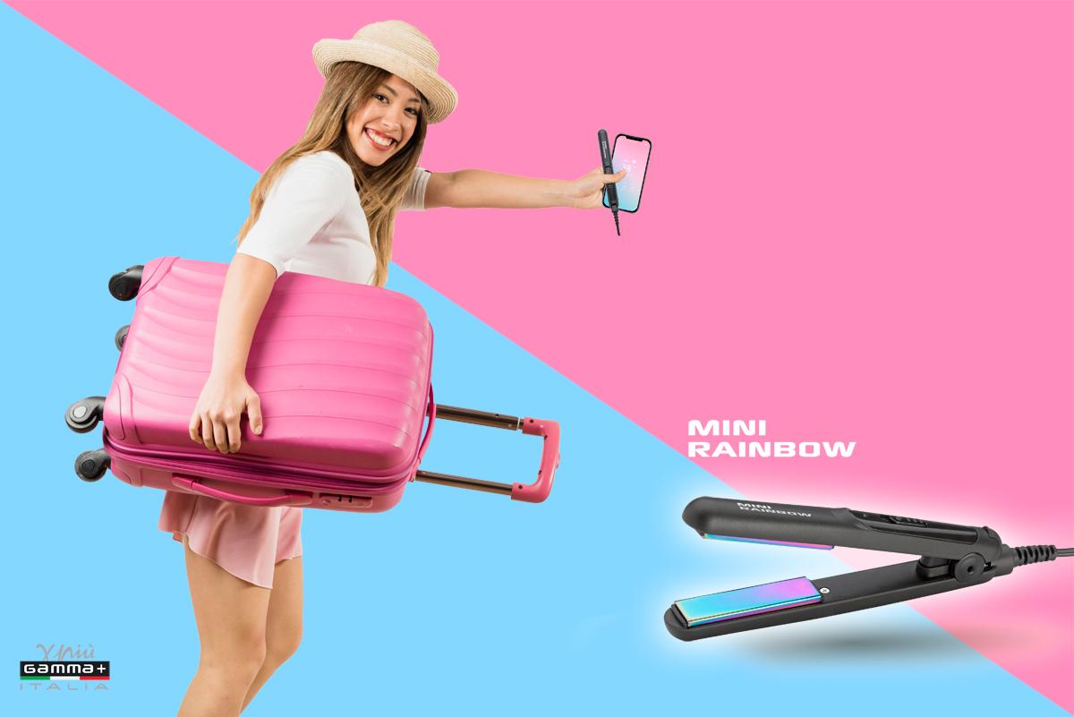 NUOVA MINI RAINBOW: La piastra professionale dalle dimensioni del tuo smartphone